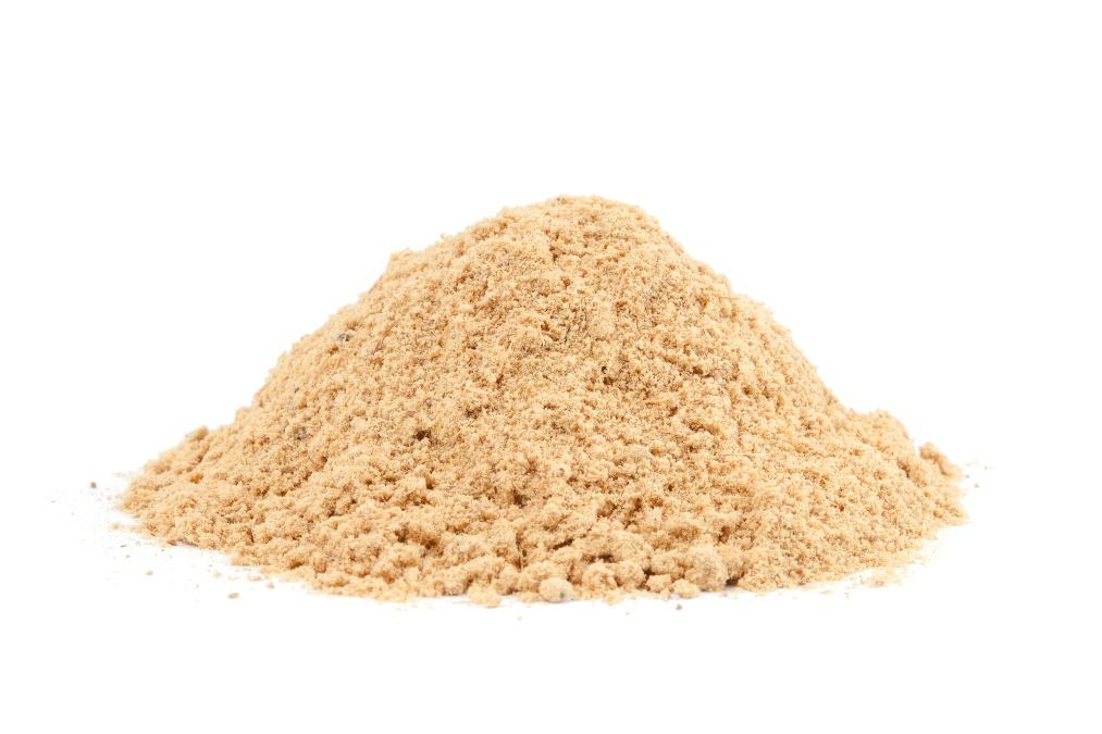 Senfmehl, aus Gelbsenf